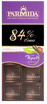 شکلات تلخ 84 درصد پارمیدا