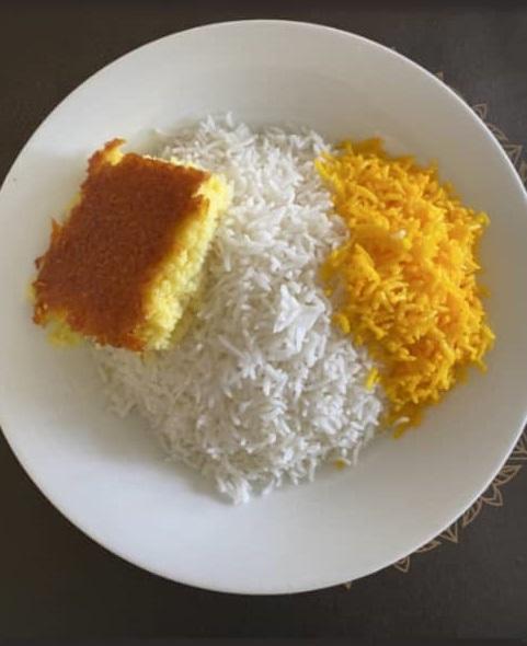 برنج ساده