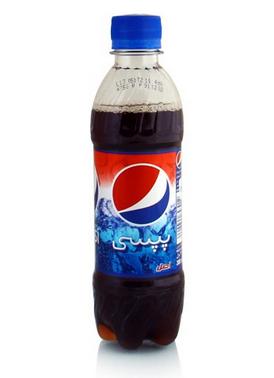 نوشابه بطری پپسی