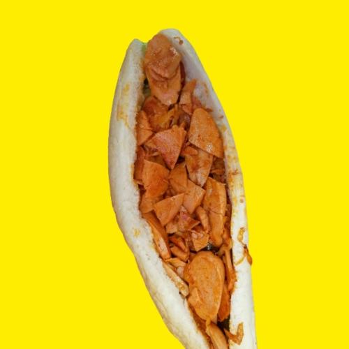ساندویچ سوسیس بندری