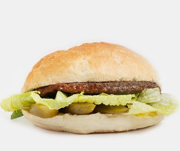 همبرگر دستی