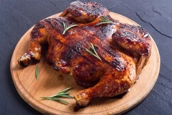 رستوران مرغ ذغالی لبنانی طاووق