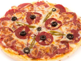 پیتزا پپرونی (بزرگ)