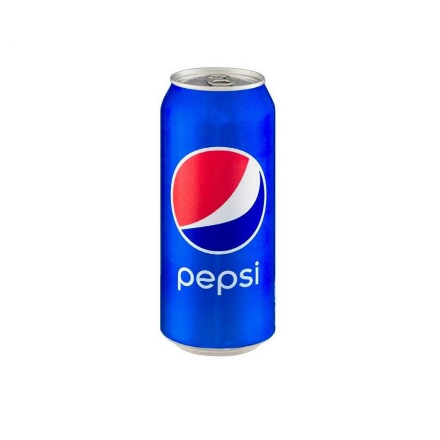 نوشابه قوطی پپسی