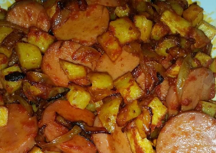 سوسیس سیب زمینی