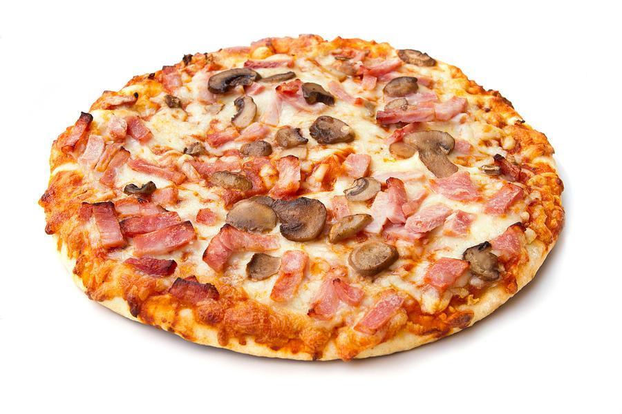 پیتزا ژامبون گوشت