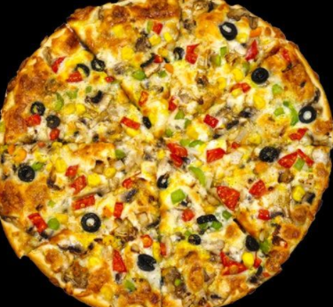 پیتزا سبزیجات دو نفره