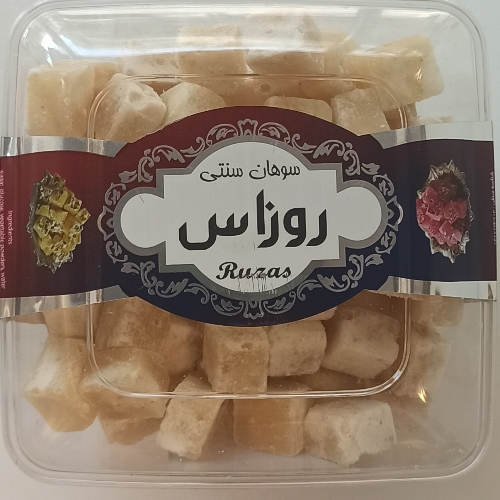 سوهان سنتی طعم زنجبیل روزاس (قند گیاهی)