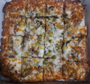 پیتزا مخلوط بزرگ