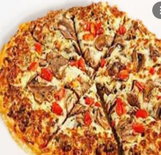 پیتزا یونانی تک نفره