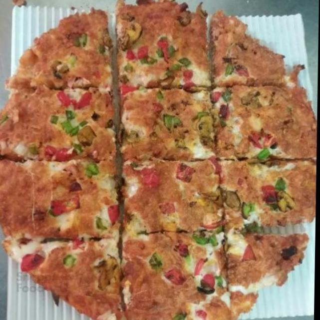پیتزا مامان جون 12 تیکه