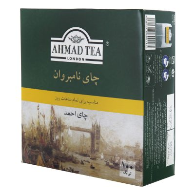 چای کیسهای نامبروان 100 عددی احمد