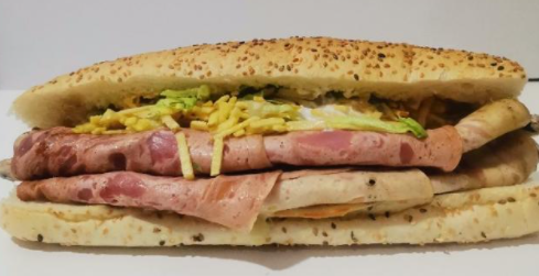 ساندویچ ژامبون تنوری میکس