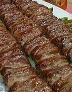 خوراک کباب برگ معمولی