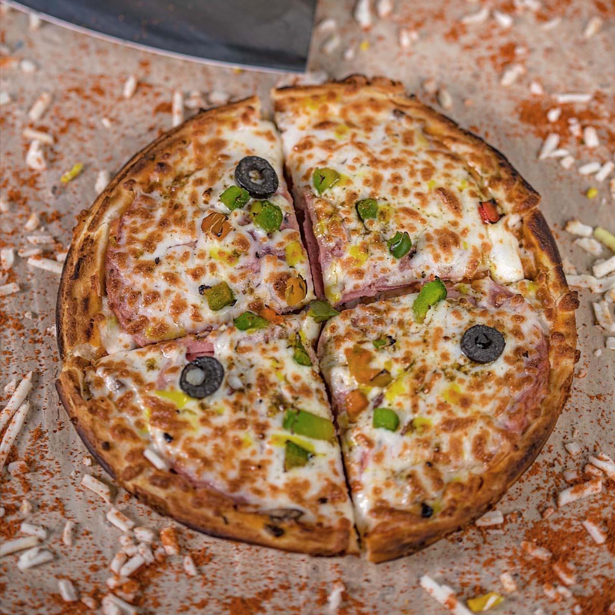 پیتزا پپرونی 2نفره