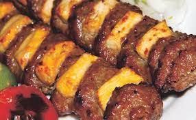 خوراک کباب نگین دار