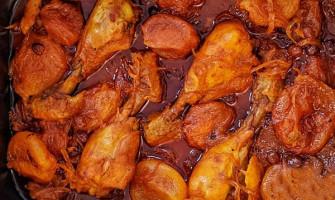 خوراک مرغ ران
