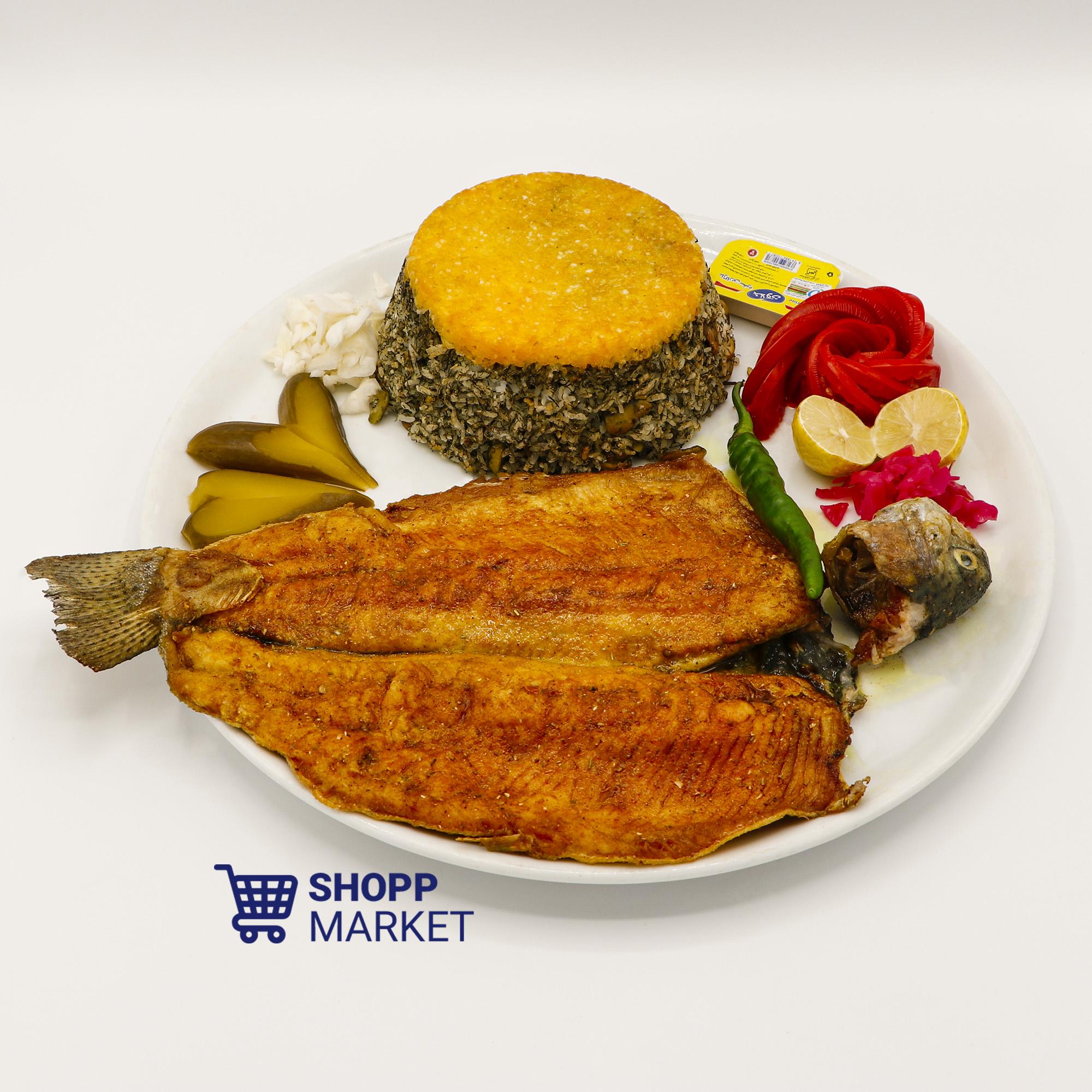 باقالی پلو با ماهی