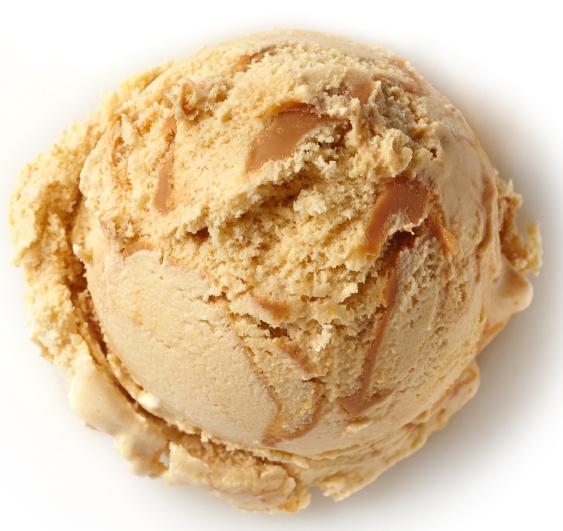 بستنی کیک کارامل