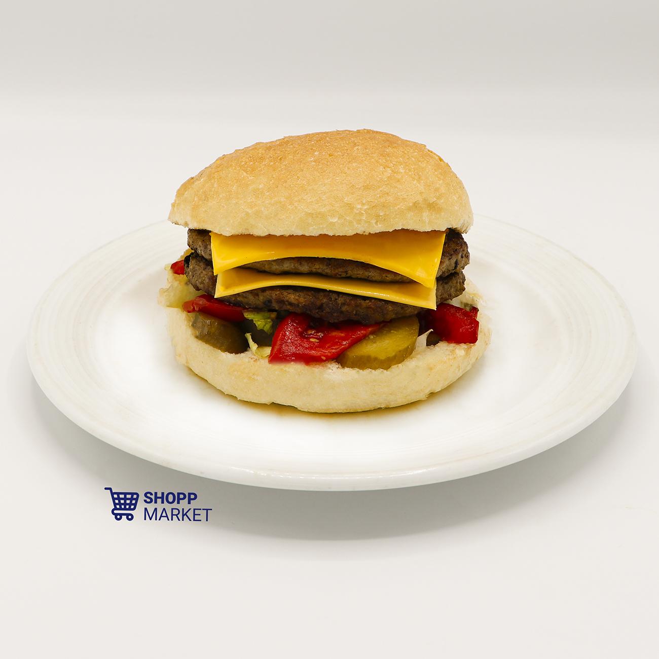 ساندویچ چیز دوبل برگر ویژه