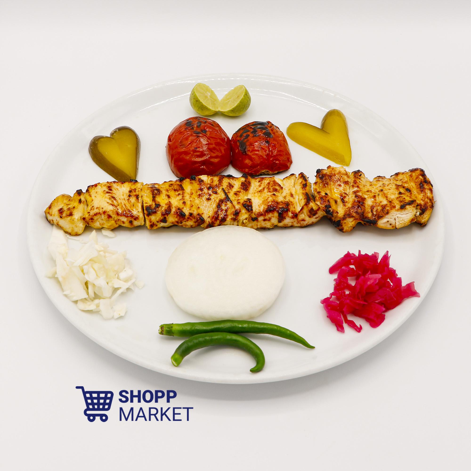 خوراک جوجه کباب مخصوص