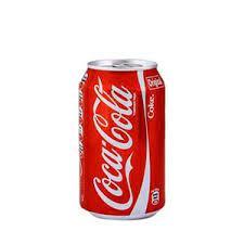 نوشابه قوطی کوکاکولا