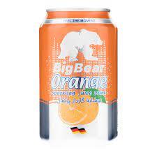 آب پرتقال قوطی big bear