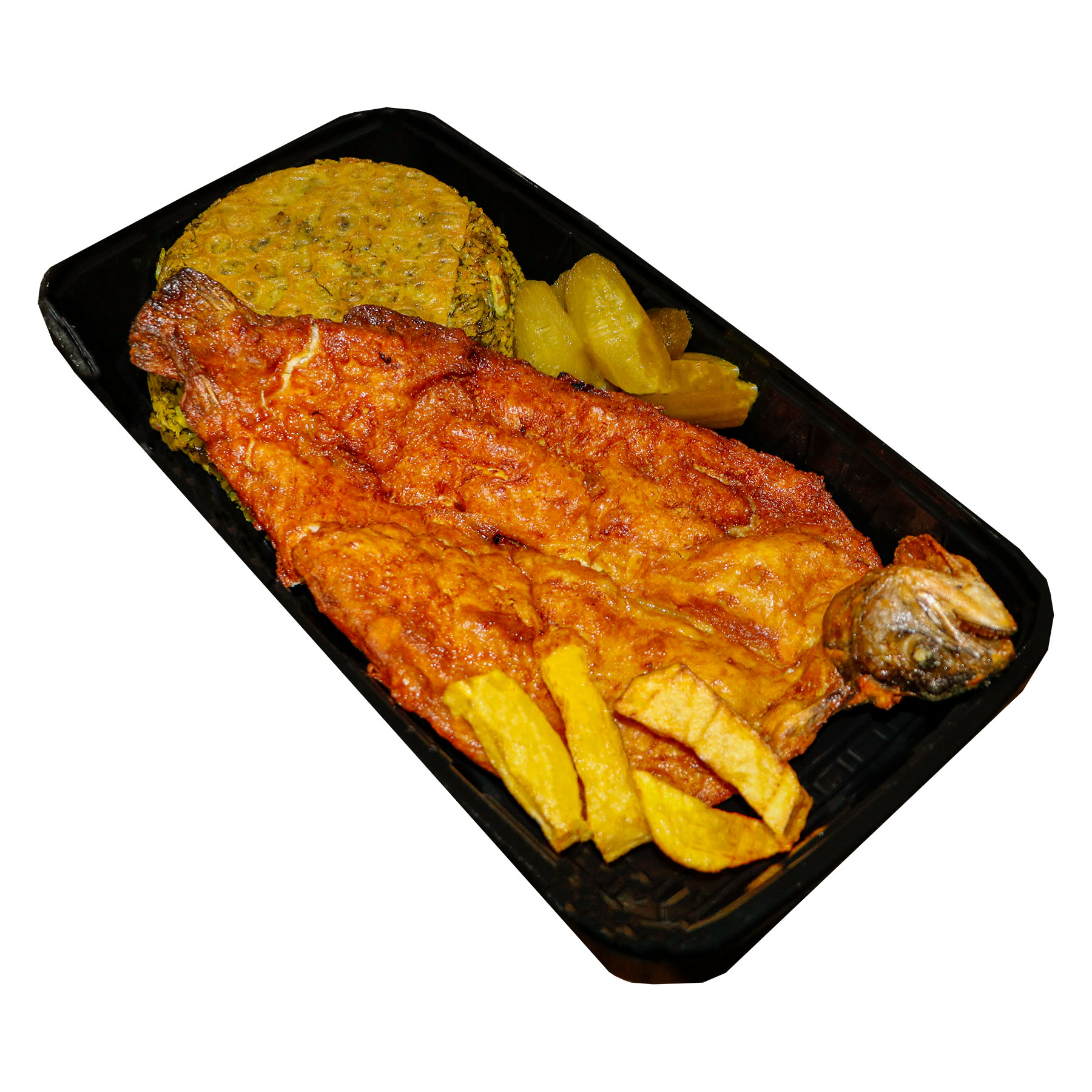 شوید باقالی پلو با ماهی قزل آلا