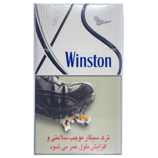 سیگار وینستون ایکس استایل نقره ای