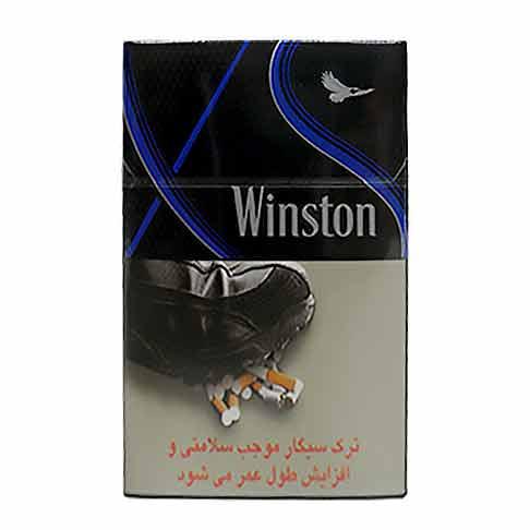 سیگار King Size Super Slim XS Blue پاکت 20 نخی وینستون