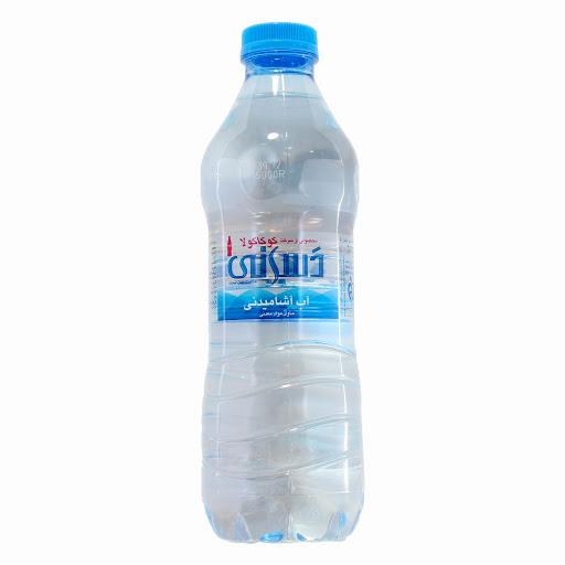 آب آشامیدنی بطری پت 500 میلی لیتری دسانی