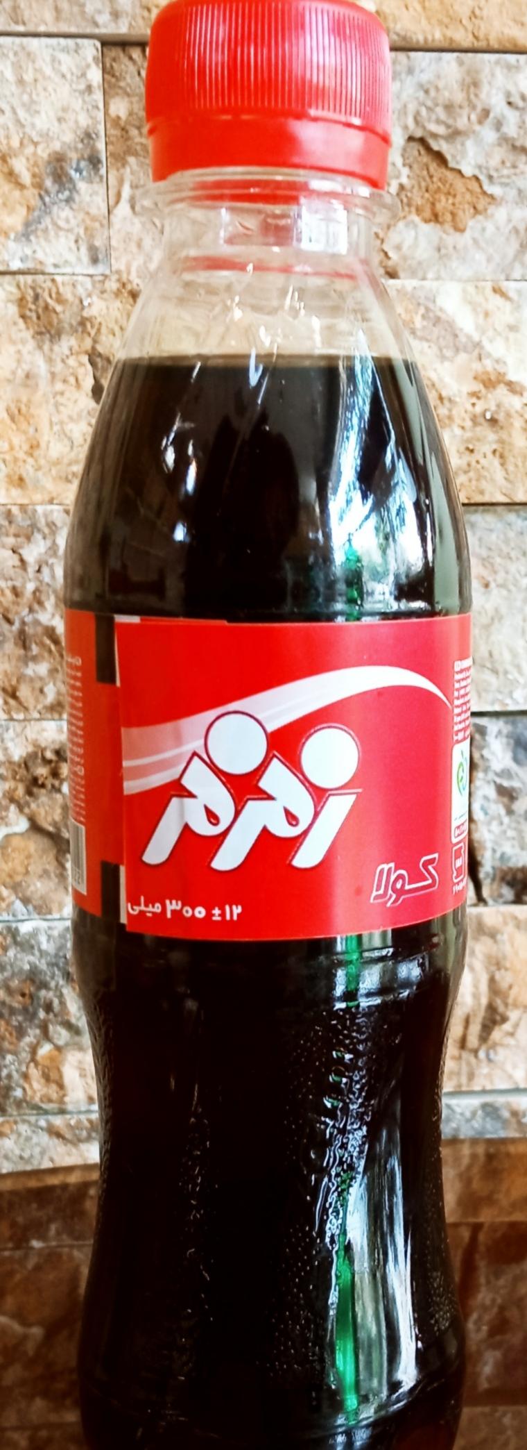 نوشابه بطری زمزم مشکی