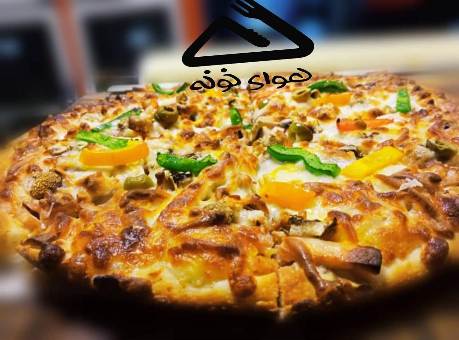 پیتزا رومانا + سیب زمینی