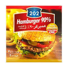 همبرگر 90% گوشت 202