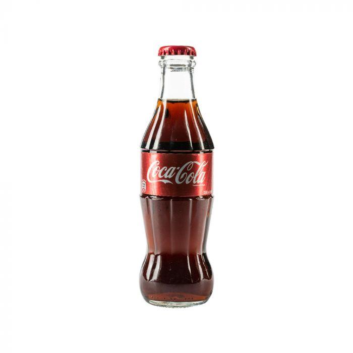 نوشابه شیشه ای کوکاکولا