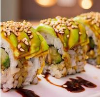 سوشی چیکن آووکادو رول (هشت تکه)