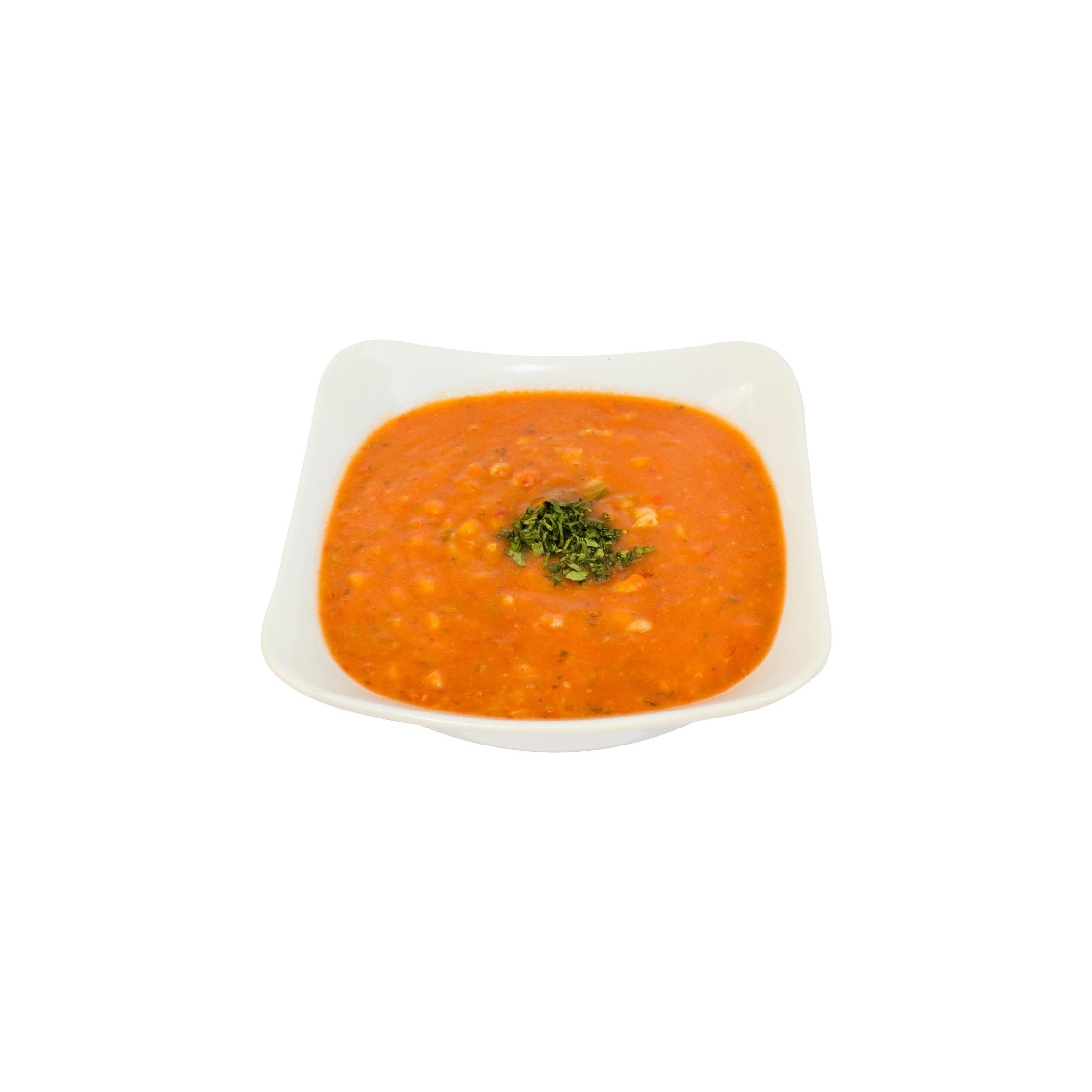سوپ جو گوجه فرنگی