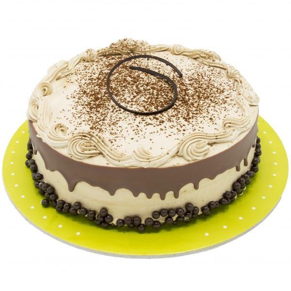 کیک نسکافه متوسط
