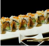 سوشی سالمون آووکادو رول (هشت تکه)