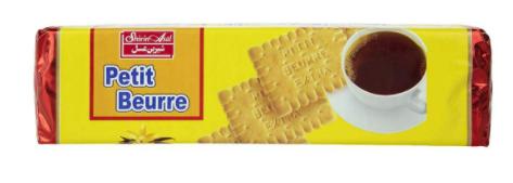 بیسکویت پتی بور وانیل 125 گرمی شیرینعسل