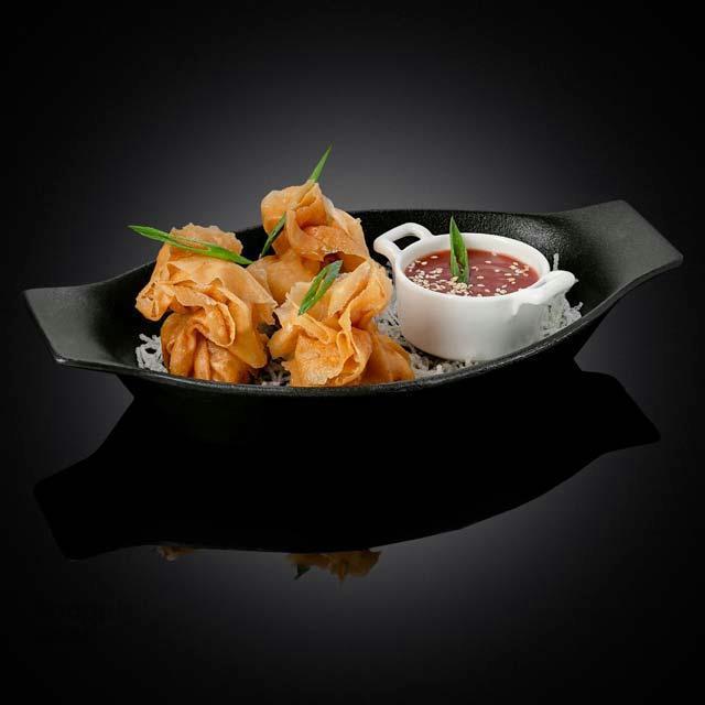 پیراشکی ژاپنی مرغ و پنیر