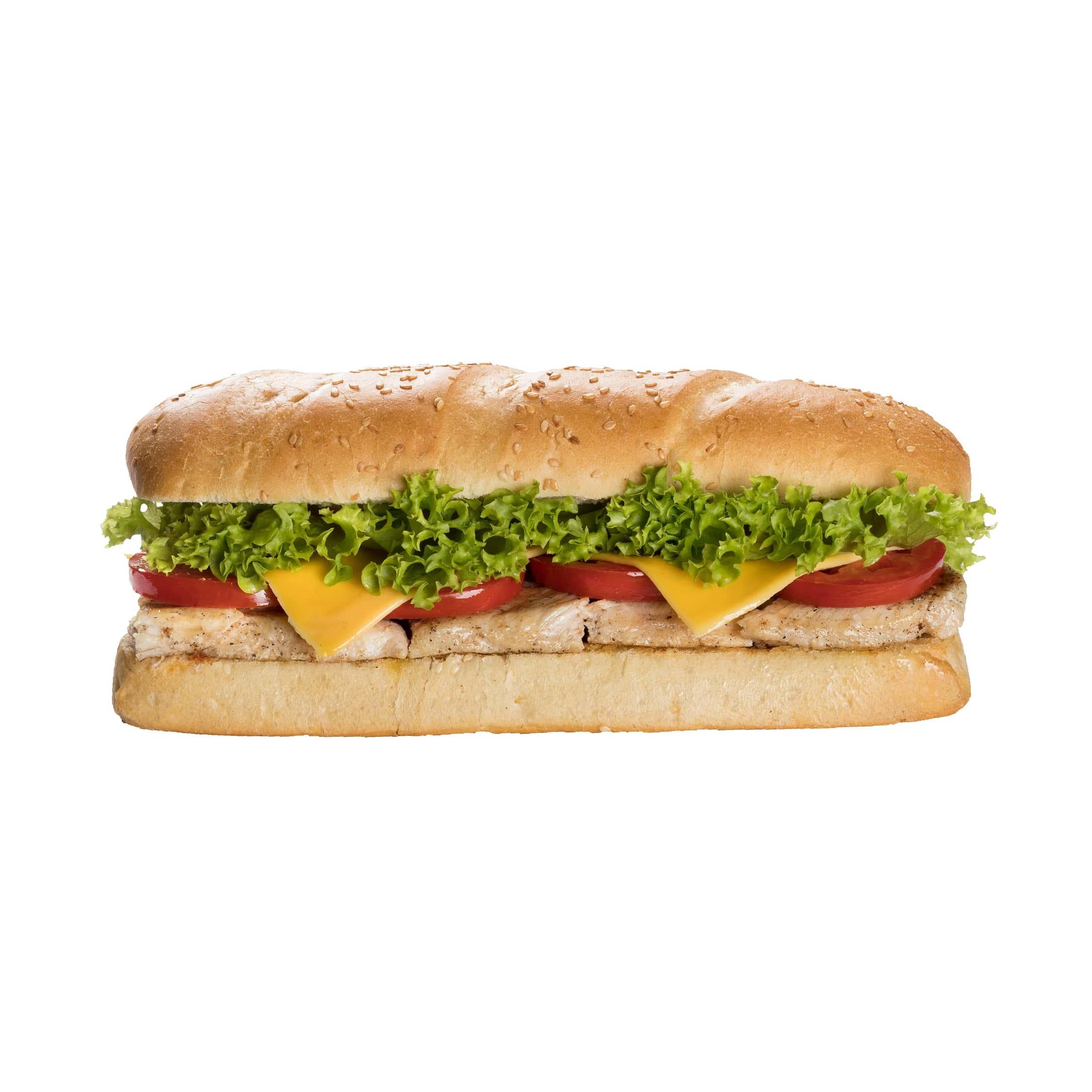 ساندویچ فیله مرغ گریل