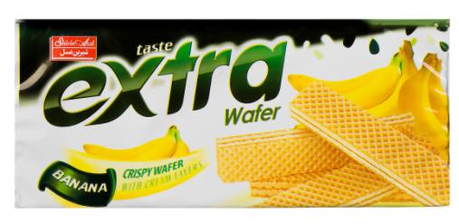 ویفر موزی 100 گرمی اکسترا شیرین عسل