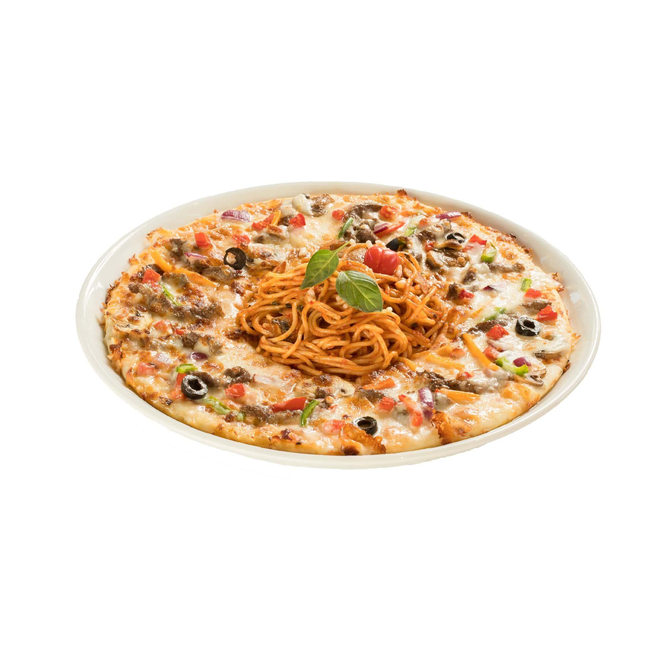 پیتزاگتی استیک