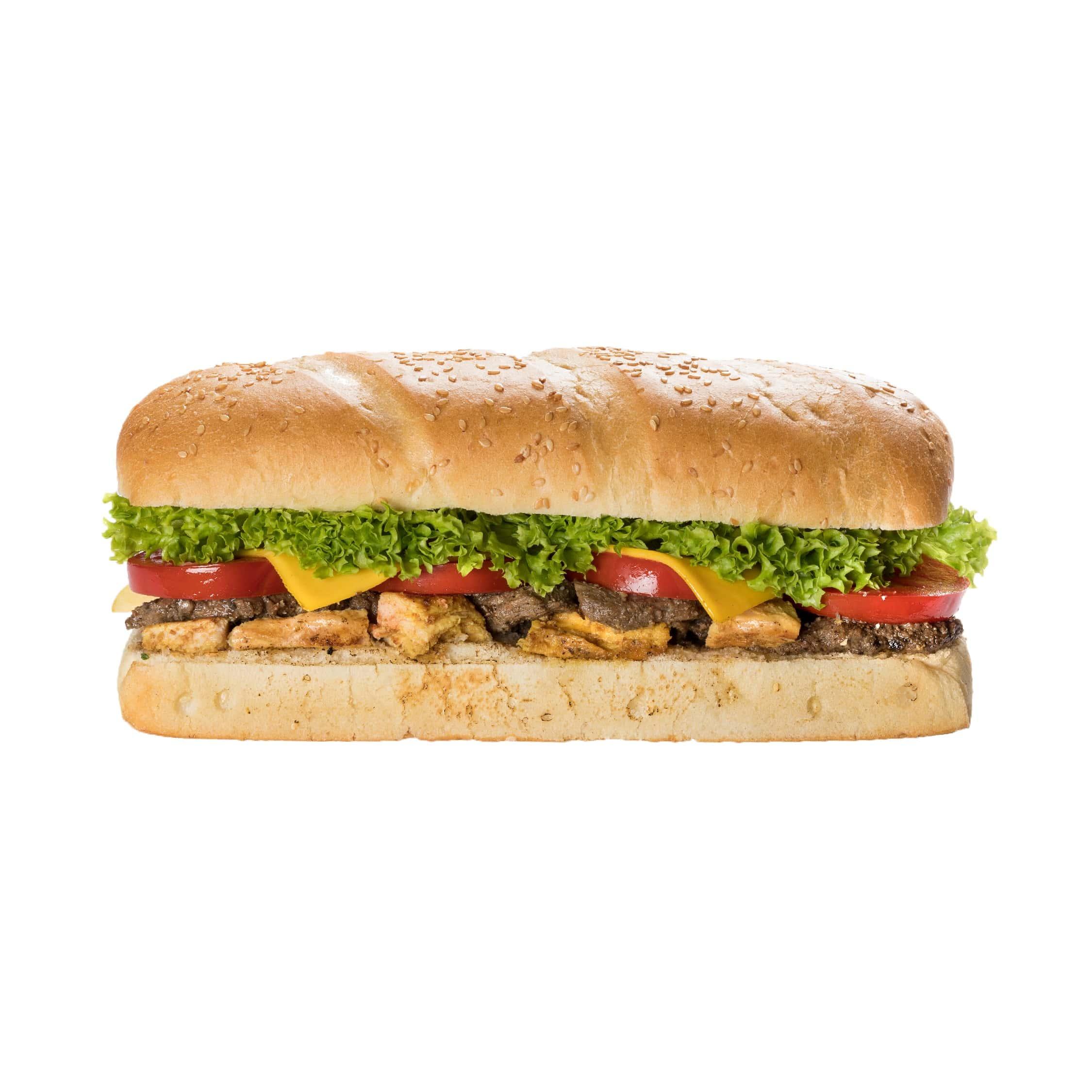 ساندویچ بیف چیکن