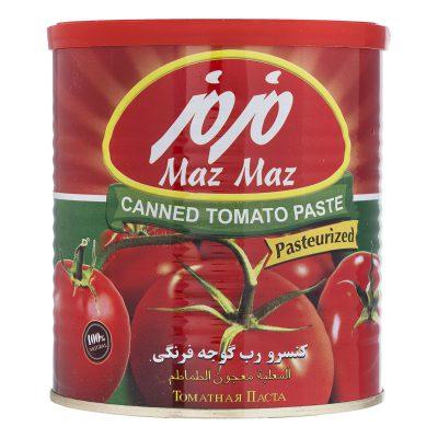 رب گوجه فرنگی 800 گرمی مزمز