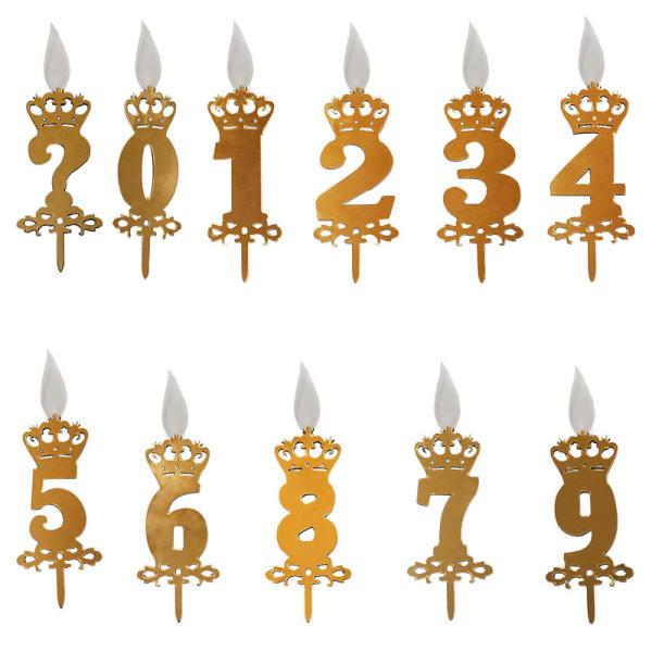 شمع تولد عددی