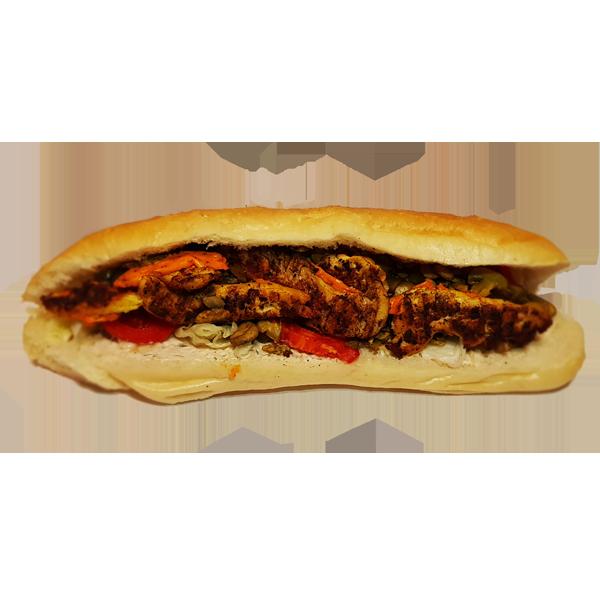 ساندویچ فیله زغالی