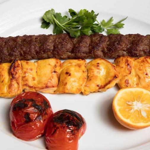 خوراک کباب میکس