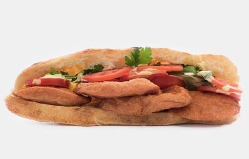 ساندویچ بلغاری زغالی